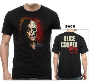 Camiseta de Alice Cooper Trashed, nueva banda de música con licencia Alc20133