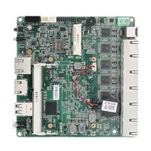Промышленная материнская плата Baytrail-I/D/M, серия J1900, E3845, DDR3L, 6 * LAN, 1 * RJ45
