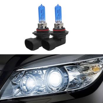 2 sztuk 9005 HB3 samochodów światło halogenowe jasna biała żarówki reflektorów samochodowych 5000K żarówki ksenonowe akcesoria # BL2 tanie i dobre opinie ISHOWTIENDA 12 v 55 w h11 halogen lamp white car accessories lamp for car auto accessorie subwoofer usb-adapter high low beam lights
