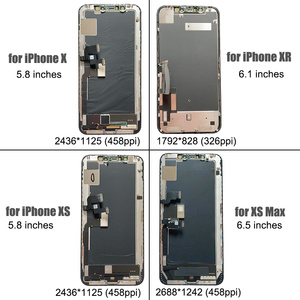 Image 4 - BFOLLOW Original OLED with True Tone Screen Replacement for iPhone X XS Max XR LCD Digitizer Display Assembly Seal