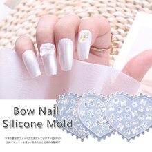 Different-Styles Nail-Art-Mold Acrylic Transparent Mixed-Design DIY 3D 8pcs/Lot Tips-Decor