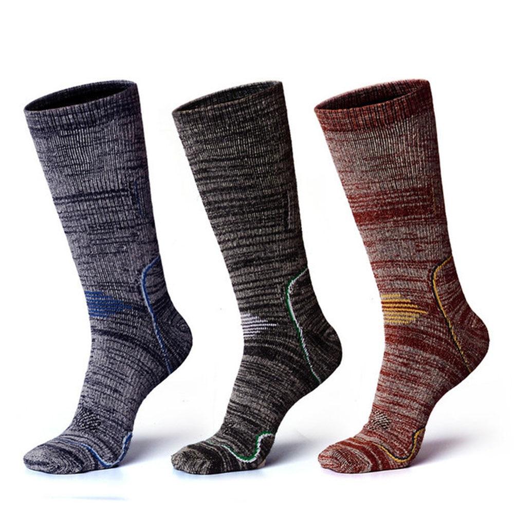 Professional Skiing Socks Winter Sports Men Women Thermal Ski Long Sock Outdoor MTB Cycling Running Football Fitness Stockings