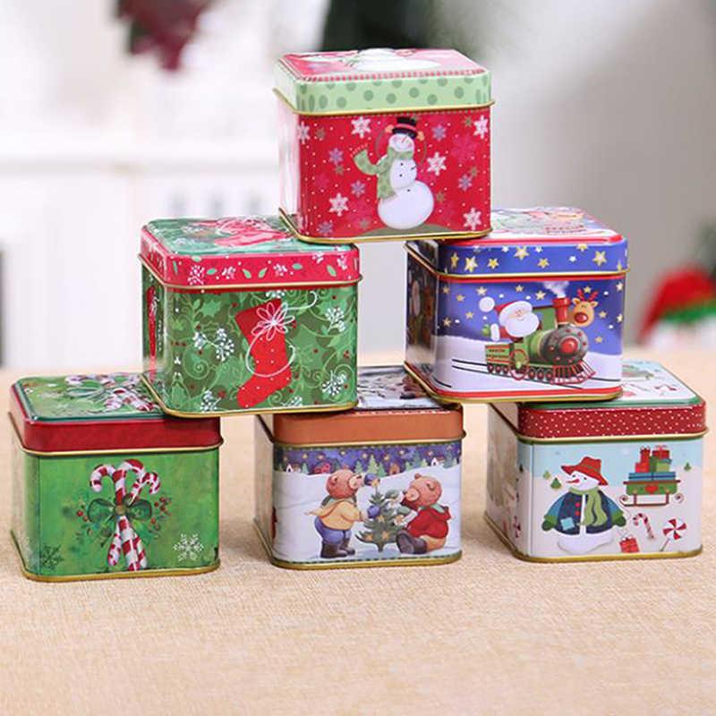 Scatola Latta Biscotti Natale.Contenitore Di Regalo Di Natale Cornici E Articoli Da Esposizione Scatola Di Latta Di Cerimonia Nuziale