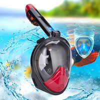 15% new diving mask Scuba diving Mask Full Face Snorkeling Mask Underwater Anti-Fog for Swimming spearfishing factory direct
