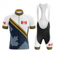Канадский стиль мужская одежда для велоспорта летняя профессиональная