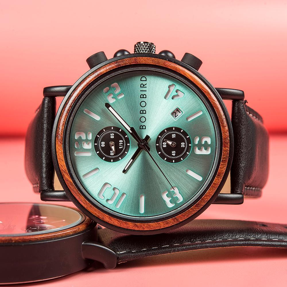 BOBO BIRD Luxury Stylish Watch W-S28