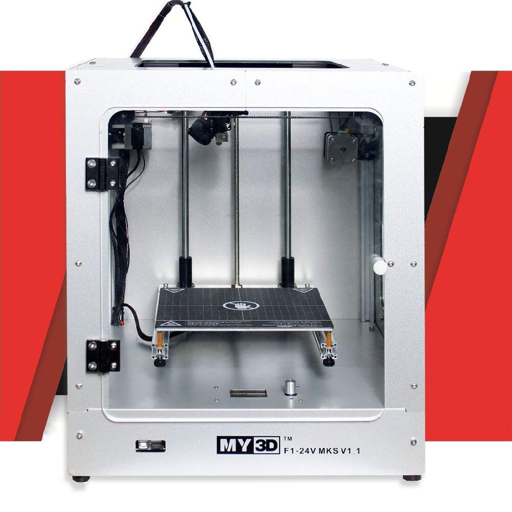 2019 DIY nowa struktura krzyżowa drukarka 3d 360W power HD ekran drukarka FDM aluminiowa struktura 205*205*245mm Ultimaker2 UM2