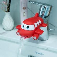 Cute Animal Faucet Extender Water Children Saving Cartoon Faucet Tool Help Washing Hands Bathroom Bath Toys Kitchen Tap Tok Kids
