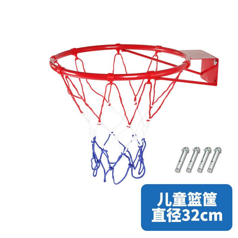 直径 32 センチメートル屋外子供バスケット家庭用屋外キャスト壁バスケットボールフープタイプバスケットボールスタンド壁