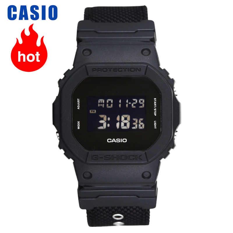 ساعة كاسيو جي شوك سلسلة ساعة الكترونية DW-5600BBN-1digital ساعة ساعة رجالية