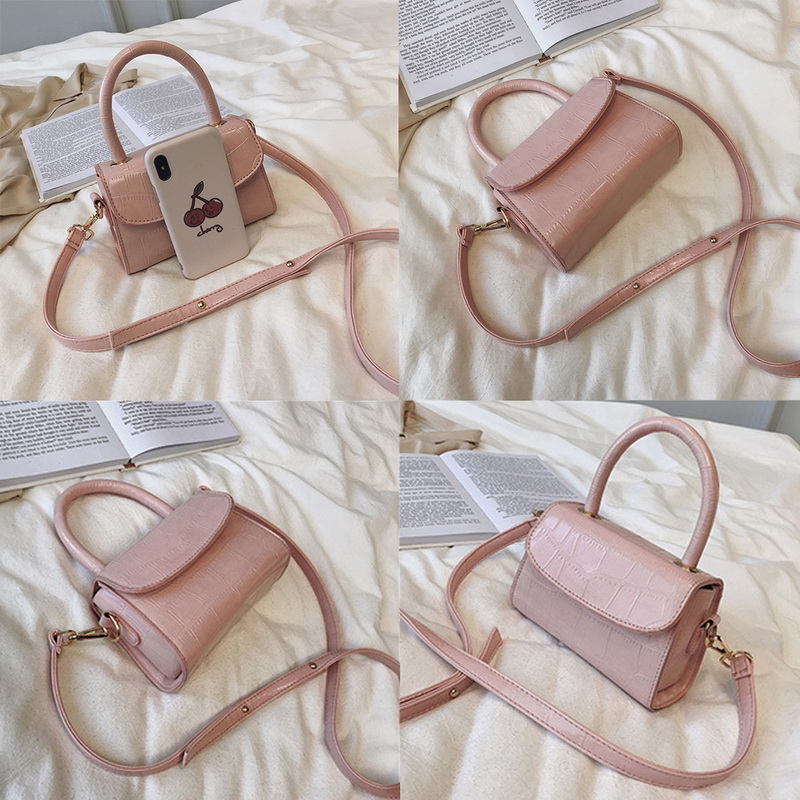 H3bcea63073aa46a5b6bdde0f269207fdJ - New Women Shoulder Messenger Bag Ladies Handbags Casual Solid PU Leather Handbag Fashion Ladies Party Handbags Clutch