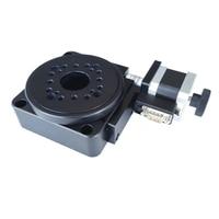 Eléctrica rotativa de indexación de placa de mesa rotativa hueco tocadiscos PX110-100T PX110-60 PX110-200