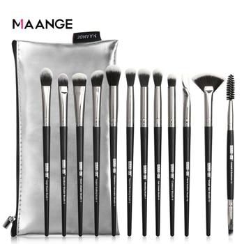 Makeup Brushes New 12pcs Eye Makeup Brushes Set With Cosmestic Bag Eyeshadow Blending Make Up Brush For Makeup Beauty Tools Kit 1