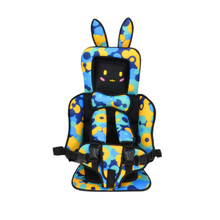 цена на Portable Baby Safety Car Seat Children Cute Infant Safe Belt Seats Toddler Carrier Cushion Pad Thicken Mat Kids Travel Car Seat