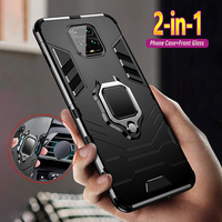 Funda armadura para xiaomi Redmi Note 9s 8 7 6 5 4 4X Pro Max 8T 8A 7A K30 K20 Pro, funda del teléfono híbrida a prueba de golpes