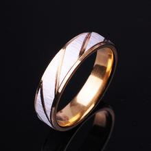 Новинка 2020 мужское модное кольцо популярное из титановой стали