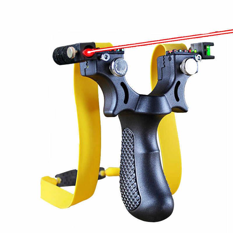 強力なスリングショット樹脂パチンコ照準点弓カタパルト人気の屋外ハンティングパチンコハントツールアクセサリー正確な