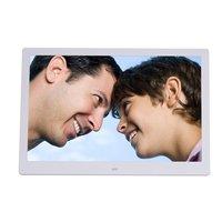 15 inch Screen LED Backlight HD Digital Photo Frame Electronic Album Photo Music Film Full Function Good Gift