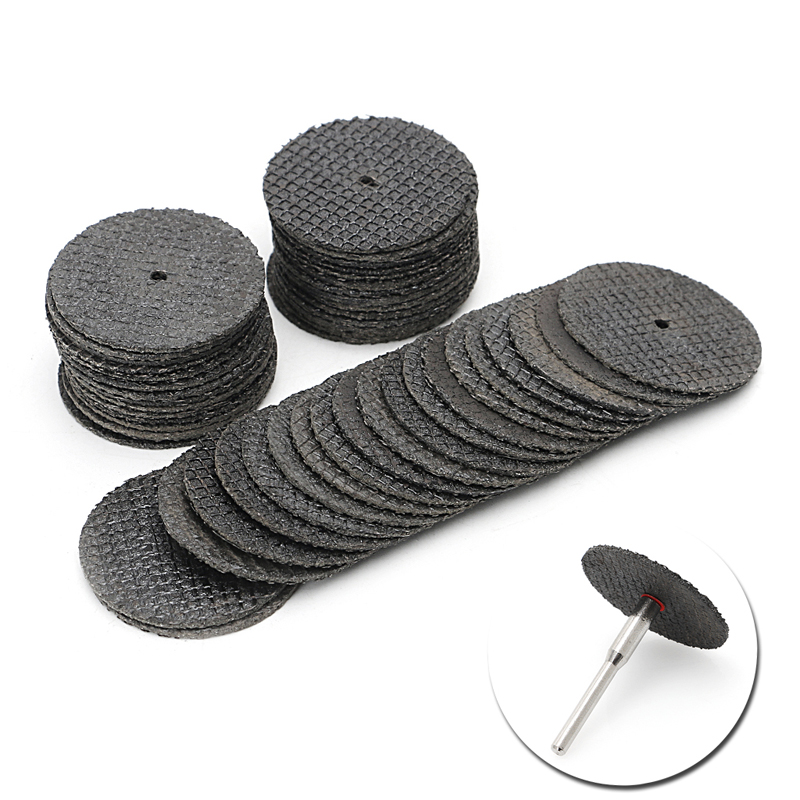 50Pcs Abrasive Tool 32mm Disks Cutting Discs Cut Off Wheel Rotary Grindeing