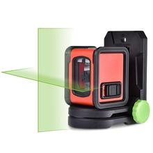 Professional Laser Level Self-leveling Alignment Instrument High Precision Green Beam Two Line 360-degree Multi-Use Level Gauge electronic leveling level 5 line 8 line gll5 40e 8 40e laser level line throwing instrument high precision