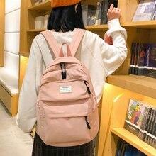 Waterproof Nylon Women Backpack mochila mujer backpacks for school teenagers girls Korean Vintage girl Shoulder Bags Travel Bag