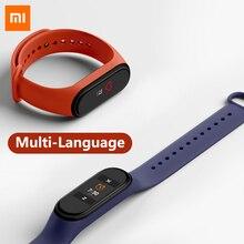Xiaomi Mi Band 4 Смарт браслет Фитнес сердечный ритм 135 мАч Цветной экран Bluetooth 5.0 Водонепроницаемый смарт браслет Смарт часы