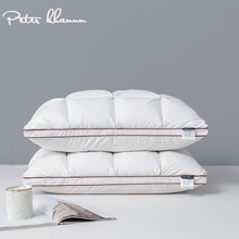 Peter Khanun 48*74cm Brand Design 3D Bread White Duck/Goose Down Feather Pillows for Sleeping Bed Pillows Home Textile 014
