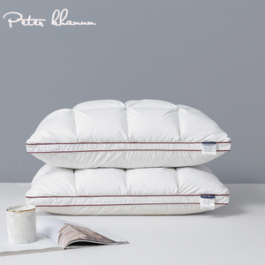 Image 1 - Peter Khanun 48*74cm Brand Design 3D Bread White Duck/Goose Down Feather Pillows for Sleeping Bed Pillows Home Textile 014