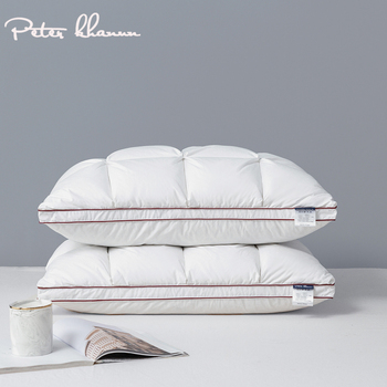 Peter Khanun 48*74cm Brand Design 3D Bread White Duck/Goose Down Feather Pillows for Sleeping Bed Pillows Home Textile 014 peter duck