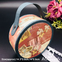 Stampo da taglio in metallo 2 pezzi Easy Box edge die Cut Scrapbooking Paper Craft Handmade Card Punch Art Cutter Alinacutle(China)