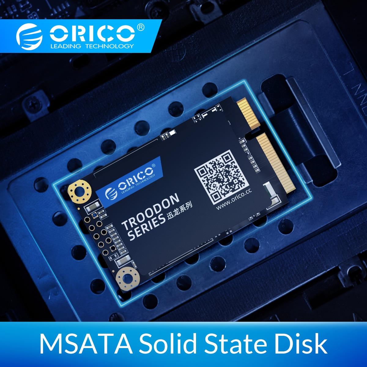 ORICO mSATA SSD Laptop Hard Drive 128GB 256GB 512GB 1TB SATA Internal Solid State Hard Drive For Desktop Laptop