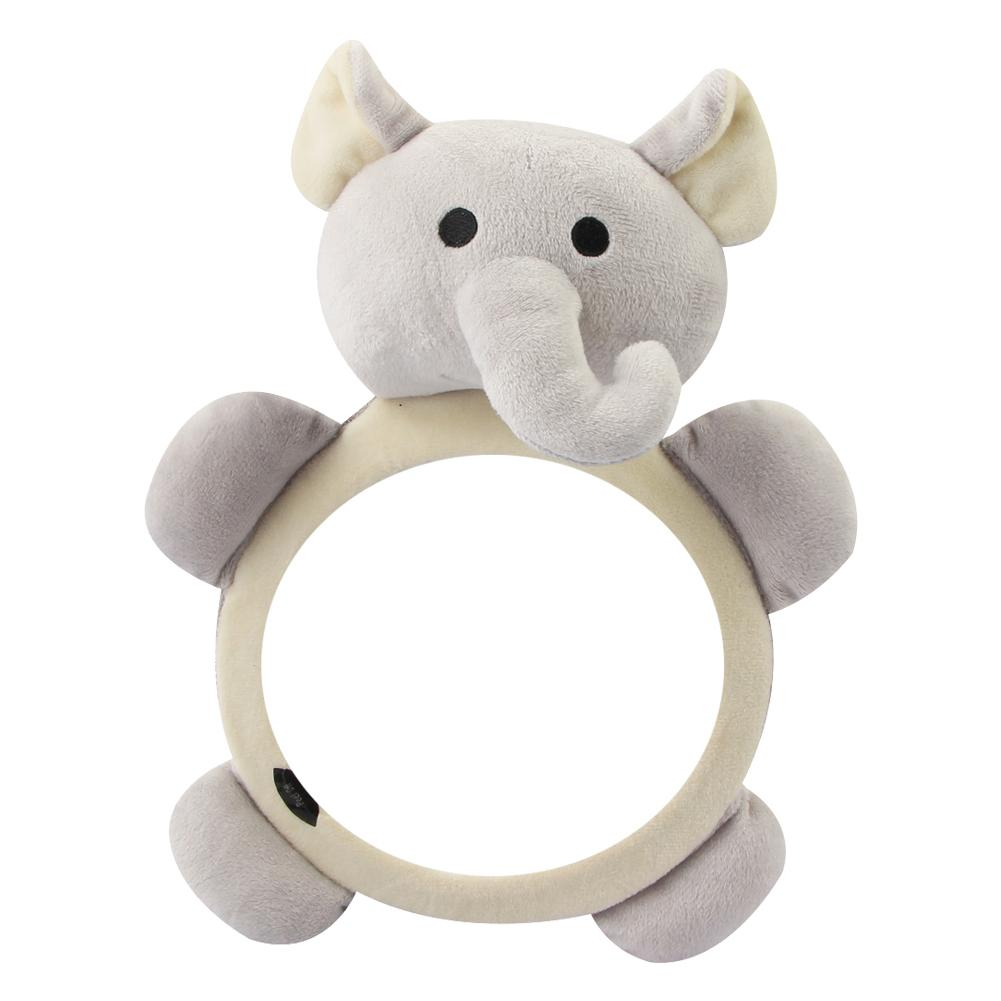 Cute Animal Shape Baby Mirror Car Safety Seat Baby Rear Facing Mirror Adjustable Wide View Rear Headrest Mount For Baby Kids