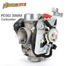 цена на Motorcycle CVK Carburetor PD30J 30mm Carb Carburator FOR Keihin Feishen FS 300cc ATV Quad Go Kart Buggy Dit Pit Bike Racing Moto