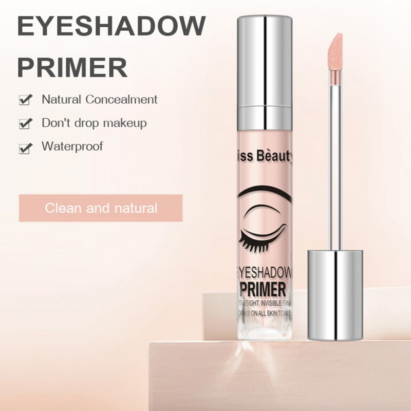 Waterproof Concealer Eyeshadow Primer Base Eye Makeup Primer Moisturizing Brighten Skin Tone Long Lasting Cosmetic image