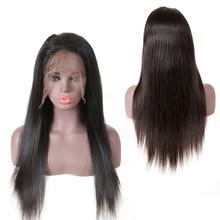 Peruca cheia do laço em linha reta perucas do cabelo humano onda do corpo peruca dianteira do laço perucas do laço do cabelo humano do virgin pré arrancado linha fina natural loiro