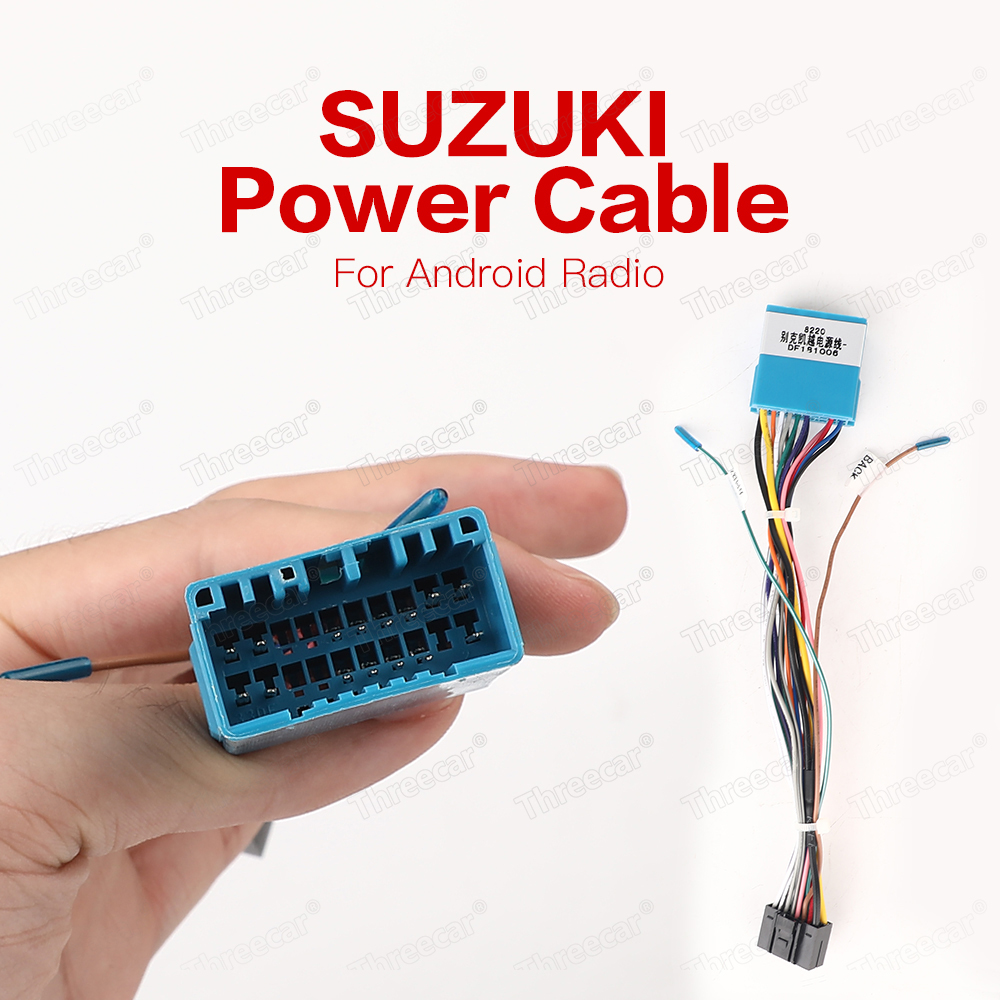 Radio-Cable Outlande-Wire Android 2din Car Suzuki Toyota Honda Volkswagen Nissan  title=