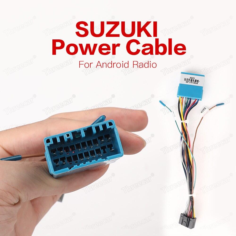 Câble de radio androïde de voiture de 2din pour le fil extérieur adapté de Ford CRV de mitsubishi de Nissan d'oin Hyundai Kia