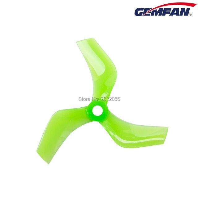 8 pces/4 pares gemfan 75mm canalizado adereços pc 3-lâmina hélice cw ccw 5mm para 1408-1808 motor cinewhoop rc fpv racing drone
