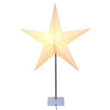 Promotion! Christmas Decoration Lamp Pentagram Pendulum Table Lamp Bedroom Bedroom Decoration Lamp Night Light with Eu Plug фото