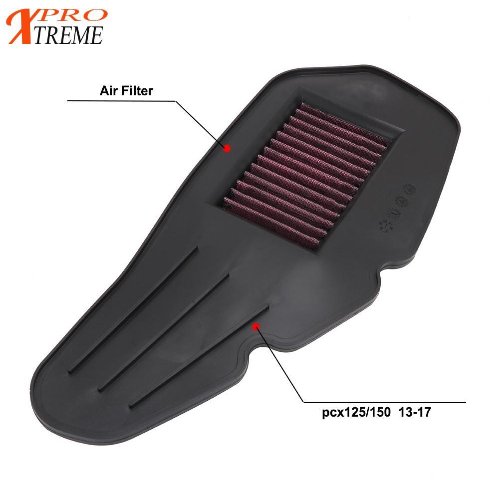 filtro para ar de motocicleta para honda filtro para moto honda pcx125 pcx150 pcx 125 150