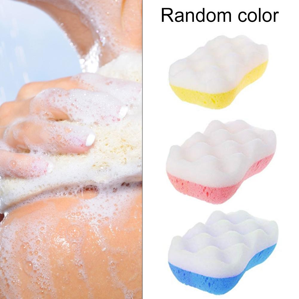1PC 3 Styles Soft Body Cleaning Bath Spa Sponge Scrubber Adult Bath Sponge Cleaning Shower Scrub Bath Bal