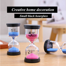 Cooking timer Hourglass 1/3/5/10/15/20/30 Minutes Timer Sand Watch Clock half Hour kids Gift Timer Home Decoration Accessories creative 15min metal sand timer sablier decoration sand watch liquid timer liquid hourglass hour glass sand timer hg006