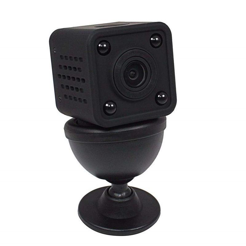 Мини Wifi IP камера 1080P HD маленькая Экшн камера DV DVR видеокамера ИК ночного видения Обнаружение движения маленькая Беспроводная HDQ9