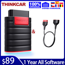 THINKCAR Thinkdiag OBD2 Diagnostic Tool with Cable Full Software 1 Year Update OBD 2 Code Reader Powerful than Launch Easydiag