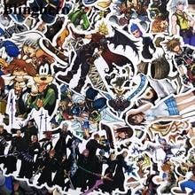 CA1006 50pcs Kingdom Hearts Scrapbooking for wall notebook cellphone luggage laptop bike guitar Graffiti Stickers album stickers