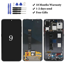 цена на All tested Good quality for Mi 9 lcd display inch assembly replacement for 9 lcd screen mobile phone lcd