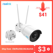 Reolink 4MP wireless ip camera wifi 2.4G/5Ghz Onvif infrared night vision waterproof outdoor indoor home  surveillance RLC 410W