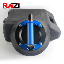 Raizi 10 Inch Vacuum Suction Cup with ABS and Metal Handle Heavy Duty Lifter, Hand Pump Suction Cup for Granite & Glass Lifting