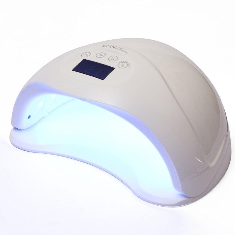 Nouveau Style dispositif de traitement de la lumière lumière LED 48 W lampe chaude vernis à ongles colle appareil de séchage indolore manucure photothérapie Heatin