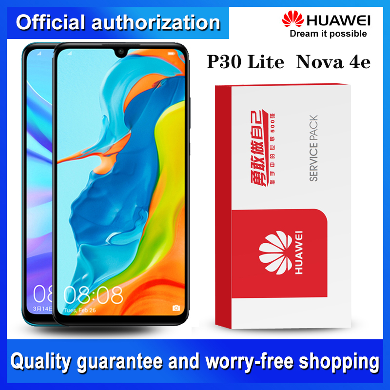 Original 2312*1080 Display Replacement for Huawei P30 Lite Nova 4e LCD Touch Screen Digitizer Assembly MAR LX1 LX2 AL01|Mobile Phone LCD Screens| |  - title=